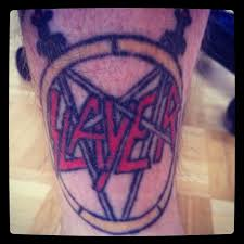 Slayer Tattoos See You South Of Heaven Slayer Slayertattoo