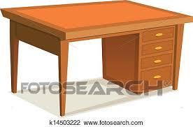 bureau a dessin clipart dessin animé bureau bureau k14503222 recherchez des