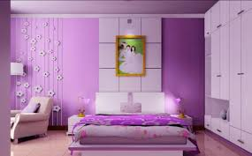 Purple Wedding Bedroom Decoration