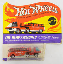 100 Power Wheels Fire Truck Mattel Redline Hot Heavyweights Engine Mint On Blister