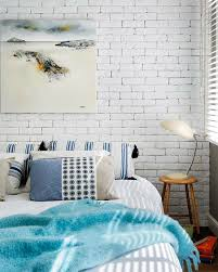 The Whitewashed Brick Wall Looks Authentically Aged And Rustic But Not Too Rough Perfect Choice