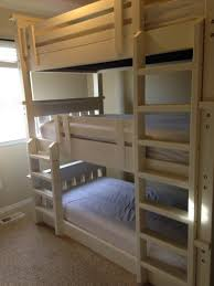 ana white simple bunk bed triple bunk diy projects