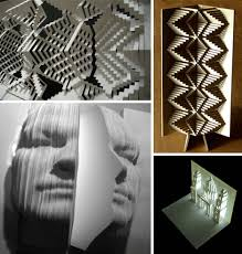 Elod Beregszaszi Paper Master Cuts To Create Folded Art