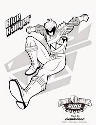 Free Coloring Pages Of Power Rangers Dino Charge