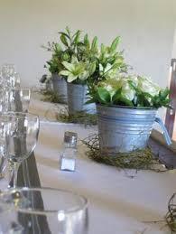 Tin Buckets Add A Rustic Feel To This Wedding