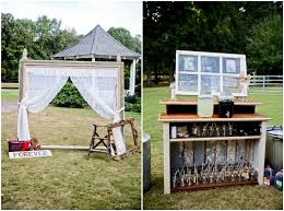 Outdoor Rustic Wedding Decorations