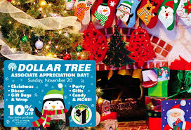 HOT 10 Off Dollar Tree Purchase Coupon Today 11 20 Only