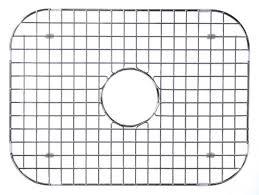 artisan manufacturing stainless steel sink grid model bg18s