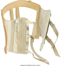 President John F. Kennedy's Personal Back Brace. John F. Kennedy's ... Belham Living Windsor Indoor Wood Rocking Chair Espresso Ebay Dedon Mbrace Chair Richs Woodcraft July 2012 Custom Birdseye Maple By Opas Woodworking Llc Harper Side Magnolia Home Fruitwood Sleigh Robuckco Purchase Mysite Inspiration 10 Rocking Fewoodworking Chairs Hal Taylor Vintage Used For Sale Chairish Chairs Pf Aldi Special Buys Popular Returns On Sale 199