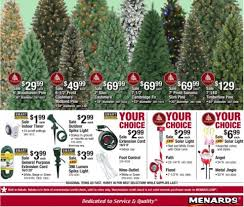 Christmas Tree Stands At Menards by Menards Christmas Catalog 11 19 17 12 02 17 The Weekly Ad