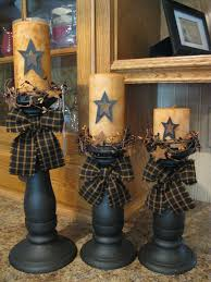 Primitive Decorating Ideas For Living Room by May Have To Hit The Junk Stores For Some Old Candle Holders To