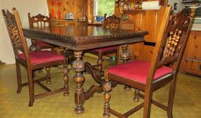 BERKEY & GAY Antique Dining Table And 4 Chairs - $800.00 | PicClick