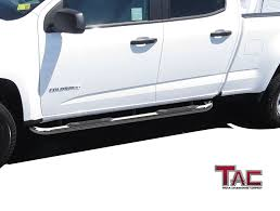 Amazon.com: TAC Side Steps For 2015-2018 Chevy Colorado / GMC Canyon ... Truck Accsories Tx Riggins 7 Custom For All Pickup Owners Grille Guard Ranch Hand Rhino Lings Milton Protective Sprayon Liners Coatings And Hh Home Accessory Center Hueytown Al Meadville Pa Line X Of Crawford County Truckbedcoversbyprice Access Plus The Boutique A City Explored Parts Tufftruckpartscom Store Plainwell Mi Automotive Specialty Affordable Drivetrain Service Bitely