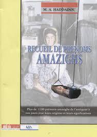 recueil de prenoms amazigh mohand akli haddadou by tamaziɣt issuu