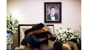 100 Coffman Trucks At Funeral A Victim Of Borderline Shooting Cody