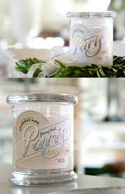 100 Pure Home Designs Couture Apothecary Candle Labels On Behance
