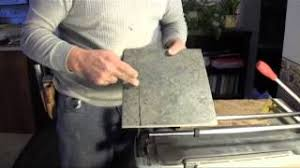 Kobalt Tile Cutter You Tube by How To Cut Porcelain Tile Using A Tile Cutter Youtube