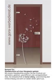 glastür aufkleber wohnzimmer glastür dekor glas