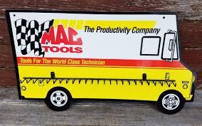 100 Mac Tool Truck S Sign Key Holder Shop Garage Or Man Cave