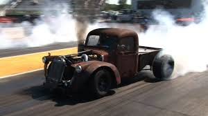 MAGNIFICENT Turbo Cummin Diesel Rat Rod Pick Up Stealing The Show At ...