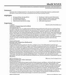 Technical Support Specialist Resume Summary By Sle Tomyumtumweb