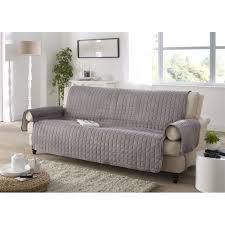 couvre canapé 3 places protege canape 3 places gris achat vente housse de canape