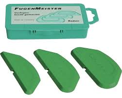 silikon fugenspachtel kaufmann für radien
