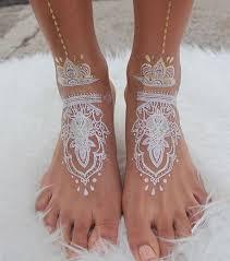 pied de le blanc photo le henné rend aussi bien sur les pieds