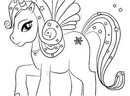 Cute Unicorn Coloring Pages For Adults The Ideal Pics Printable