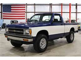 1991 Chevrolet S10 For Sale   ClassicCars.com   CC-1007148 Chevrolet S10 V8 Engine Swap Chevy High Performance Crew Cab View All At Cardomain Pickup White Ebay Motors 151060170932 Used 1994 Ls Rwd Truck For Sale 41897a Side Step Ss Model Drag Or Hot Rod Amercian Project Hot Rod Network Sold 2001 Extended Meticulous Inc 2010 Silverado 2500hd Information Heres Why The Xtreme Is A Future Classic