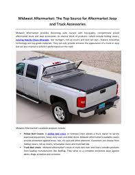 100 Truck Bed Rail Covers Midwest Aftermarket The Top Source For Aftermarket Jeep And