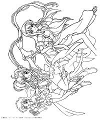 Hellokids Coloring Pages Mermaid Melody Page
