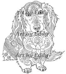 Dachshund Coloring Book For All Ages
