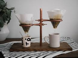 Double Pour Over Coffee Stand