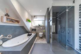 75 beautiful bathroom with a tub and brown countertops