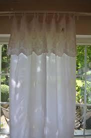 gardine vorhang serina schleifengardine weiß 140x250