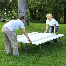 Lifetime Folding Picnic Table Assembly Instructions by Best 25 Folding Picnic Table Ideas On Pinterest Outdoor Picnic