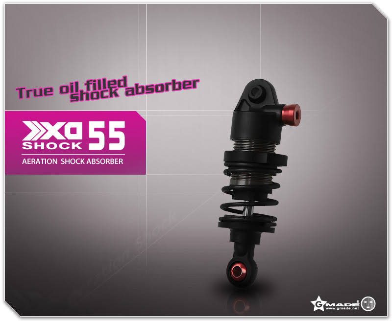 Gmade XD Aeration Shock 55mm (2) GM21907