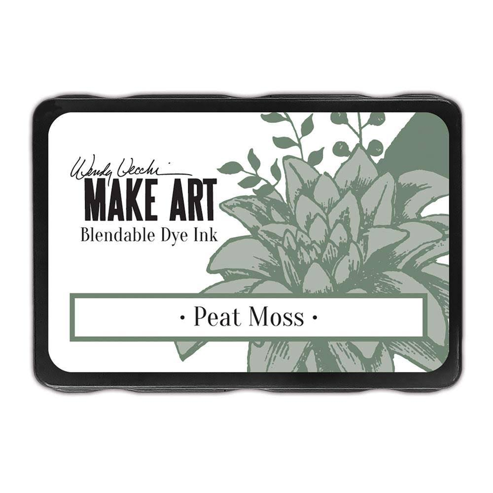 Wendy Vecchi Make Art Blendable Dye Ink Pad - Peat Moss