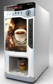 Hot Sale Instant Coffee Vending Machine F303V With Cup Dispenser And Coin Slot Images