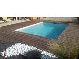 margelle piscine en bois plage de piscine bois terrasse de piscine en bois à bordeaux