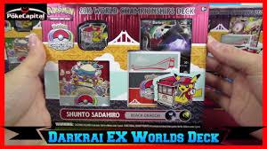 pokemon cards 2016 world chionships darkrai ex deck opening