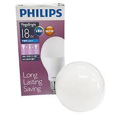 philips 18w 130w 220v 6500k mega bright led bulb l light e26