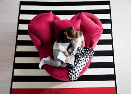 Mickey Mouse Flip Out Sofa by Mickey Stripe Rug Rugs