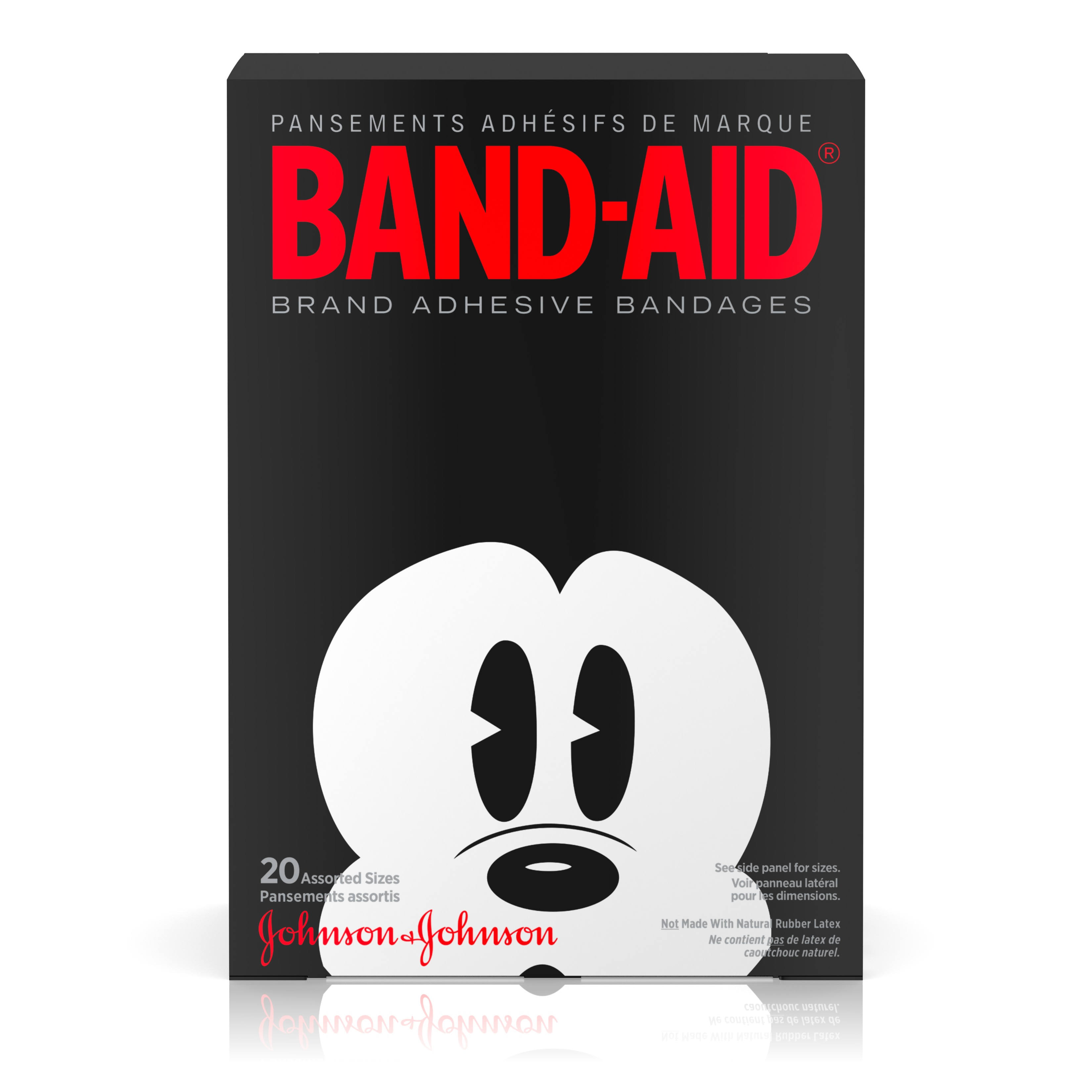 Band-Aid Brand Adhesive Bandages - Mickey Mouse, 20 Count