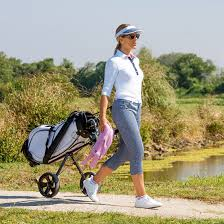 golfino golf capri pants in slim fit shop online