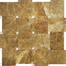 Carrera Brown Khaki Marble 4 In X 8