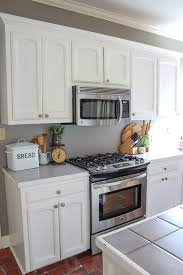 Get The Fixer Upper Look On A Budget By Putting Up Textured Subway Tile Backsplash