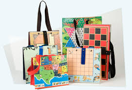 Create Hand Bags Out Of Old Board Games A Playful Geddit Accessory If