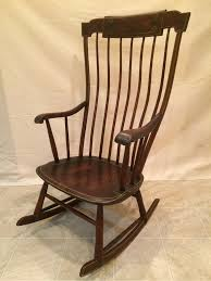 Antique Federal Period Boston Windsor Rocking Chair ...